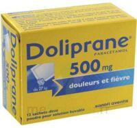 Doliprane 500 Mg Poudre Pour Solution Buvable En Sachet-dose B/12 à Nice