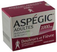 Aspegic Adultes 1000 Mg, Poudre Pour Solution Buvable En Sachet-dose 15 à Nice