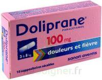 Doliprane 100 Mg Suppositoires Sécables 2plq/5 (10) à Nice