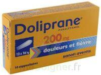 Doliprane 200 Mg Suppositoires 2plq/5 (10) à Nice