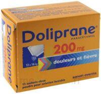 Doliprane 200 Mg Poudre Pour Solution Buvable En Sachet-dose B/12 à Nice