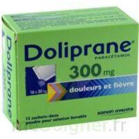 Doliprane 300 Mg Poudre Pour Solution Buvable En Sachet-dose B/12 à Nice