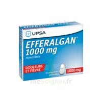 Efferalgan 1000 Mg Comprimés Pelliculés Plq/8 à Nice