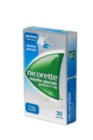 Nicorette 4 Mg Gom à Mâcher Médic Sans Sucre Menthe Glaciale Plq/30gom à Nice