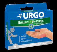 Urgo Brulures-blessures Petit Format X 6 à Nice