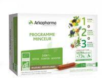 Arkofluide Bio Ultraextract Coffret Programme Minceur 3x10 Ampoules/10ml à Nice