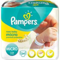 Pampers Couches New Baby Micro 1-2,5 Kg X 24 à Nice