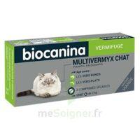 Biocanina Multivermyx Comprimés Vermifuge Chat B/2 à Nice