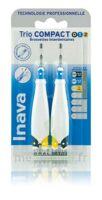 Inava Brossettes Tri Compact étroit  012 Noir 0,6mm/ Bleu 0,8mm/ Jaune 1mm à Nice