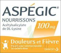 Aspegic Nourrissons 100 Mg, Poudre Pour Solution Buvable En Sachet-dose à Nice