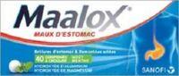 Maalox Hydroxyde D'aluminium/hydroxyde De Magnesium 400 Mg/400 Mg Cpr à Croquer Maux D'estomac Plq/40 à Nice