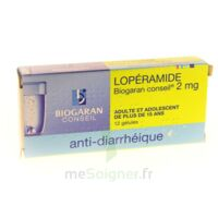 Loperamide Biogaran Conseil 2 Mg, Gélule à Nice