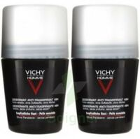 Vichy Anti-transpirant Homme Bille Anti-trace 48h Lot à Nice