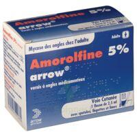 Amorolfine Arrow 5 % V Ongles Médicamenteux 1fl/2,5ml+30spat à Nice
