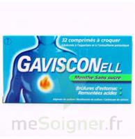 Gavisconell Coprimés à Croquer Sans Sucre Menthe édulcoré à L'aspartam Et à L'acésulfame Potas Plq/24 à Nice