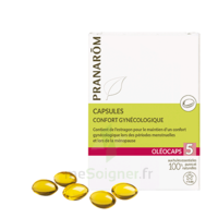 Pranarom Oleocaps 5 Caps Confort Gynécologique & Urinaire à Nice
