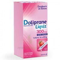 Dolipraneliquiz 300 Mg Suspension Buvable En Sachet Sans Sucre édulcorée Au Maltitol Liquide Et Au Sorbitol B/12 à Nice