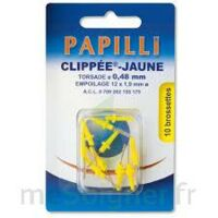 Papilli - Clippee, Jaune, Sachet 10 à Nice