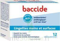 Baccide Lingette Désinfectante Mains & Surface 12 Pochettes à Nice