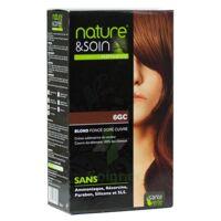 Nature & Soin Kit Coloration 6gc Blond Foncé Doré Cuivré à Nice