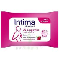 Intima Gyn'expert Lingettes Cranberry Paquet/30 à Nice