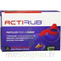 Actirub Pastilles Pour La Gorge B/15 à Nice