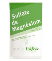 Gifrer Magnésium Sulfate Poudre 50 Sachets/30g à Nice