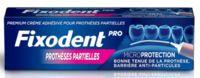 Fixodent Pro Crème Adhésive Pour Prothèse Partielle T/40g à Nice