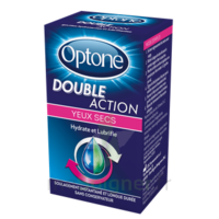 Optone Double Action Solution Oculaire Yeux Secs Fl/10ml Promo à Nice