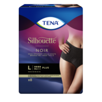 Tena Silhouette Plus Slip Absorbant Noir L Sachet/9 à Nice