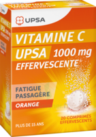 Vitamine C Upsa Effervescente 1000 Mg, Comprimé Effervescent à Nice